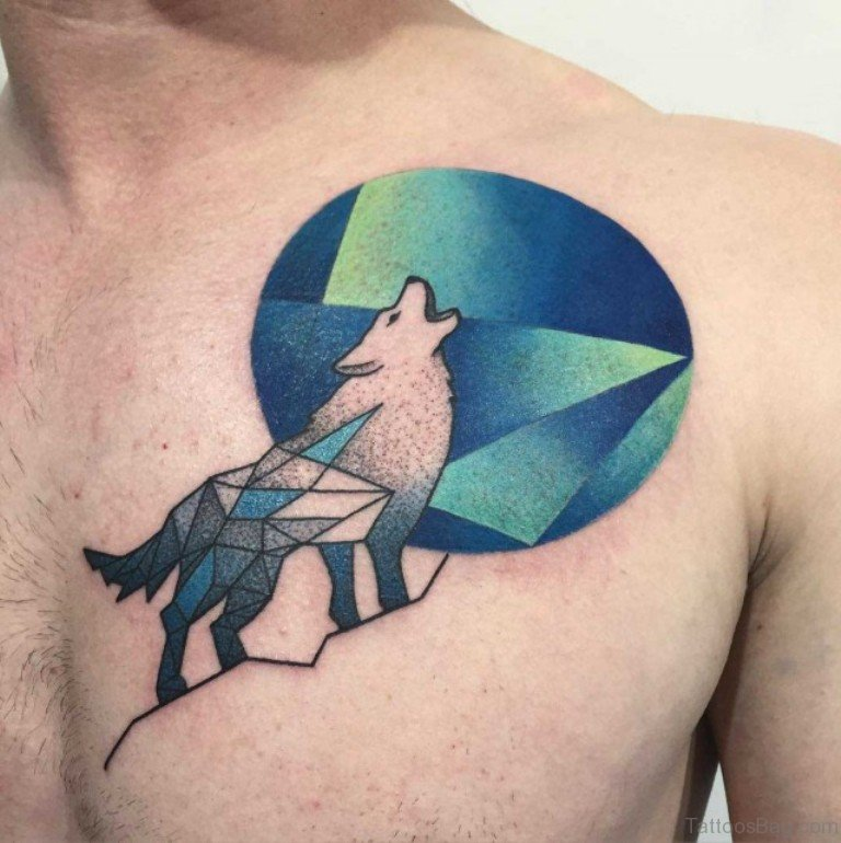 50 Excellent Wolf Tattoos For Chest