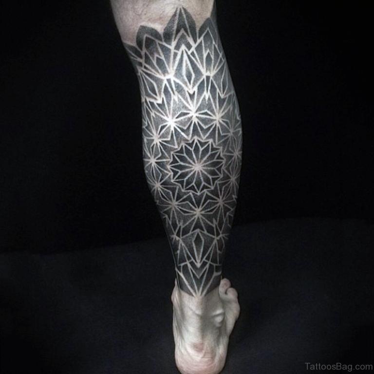 50 brilliant geometric tattoos on leg. Black Bedroom Furniture Sets. Home Design Ideas