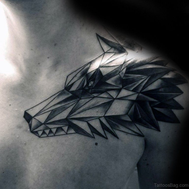 51 Elegant Wolf Tattoos On Shoulder