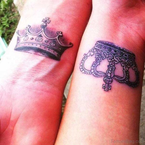 Good Crown Tattoos On Wrist
