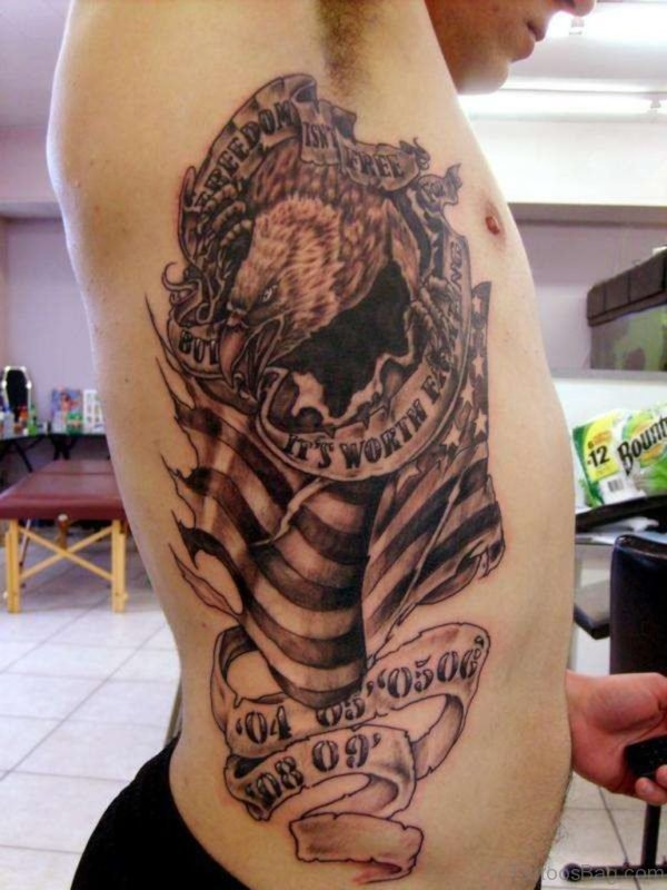 Good Looking Eagle Tattoo