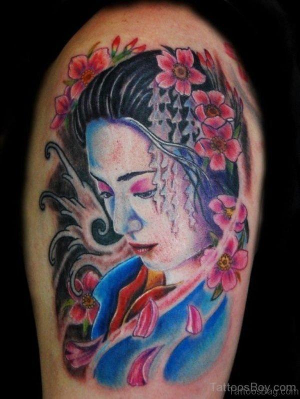 Good Looking Geisha Tattoo