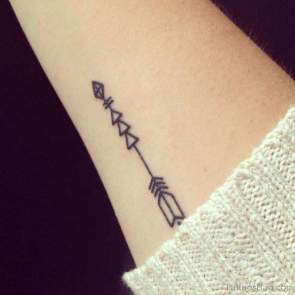 Gorgeous Arrow Tattoo
