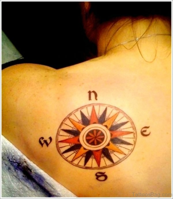 Gorgeous Compass Tattoo