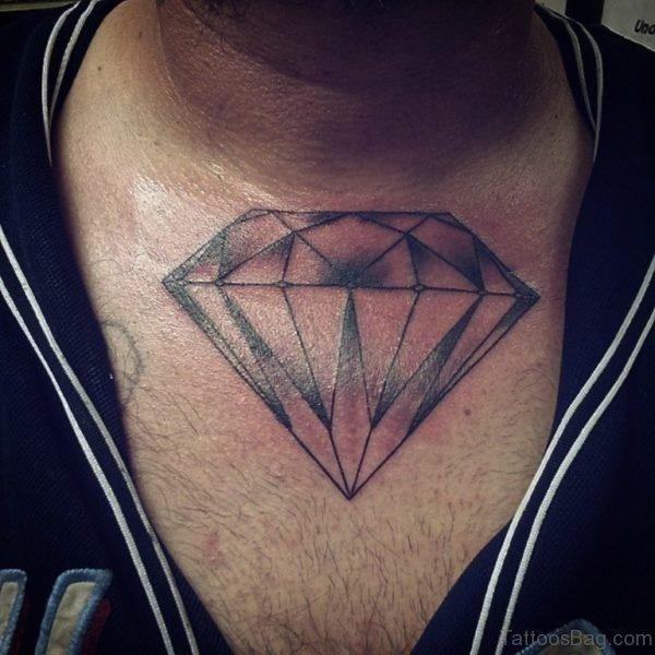 Gorgeous  Diamond Tattoo