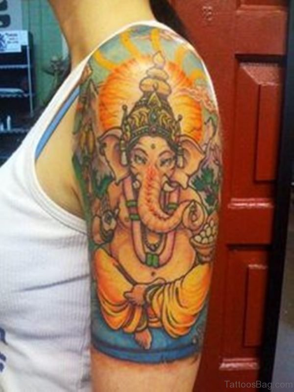 Gorgeous Ganesha Tattoo