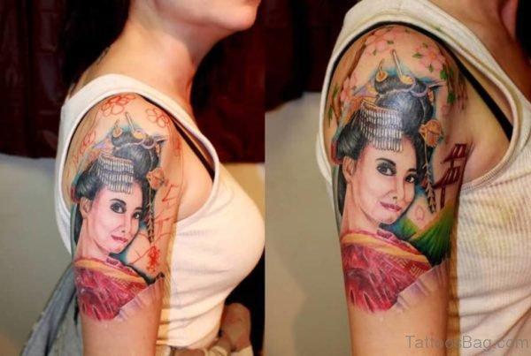 Gorgeous Geisha Tattoo