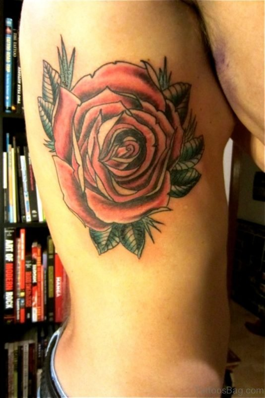 Gorgeous Rose Tattoo