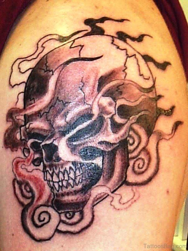 Gothic Skull Tattoo