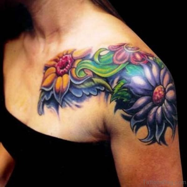 Tattoo For Womens: 77 Beautiful Shoulder Tattoos For Women