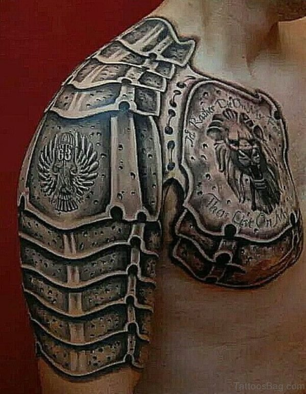 Graceful Armor Tattoo