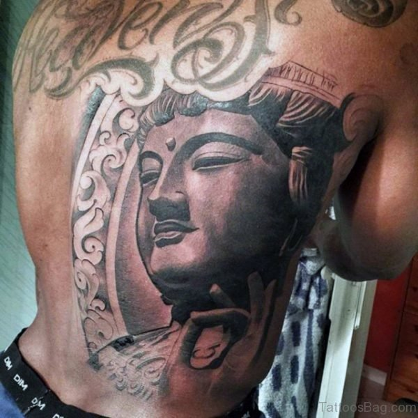 Graceful Buddha Tattoo