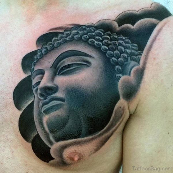 Graceful Buddha Tattoo