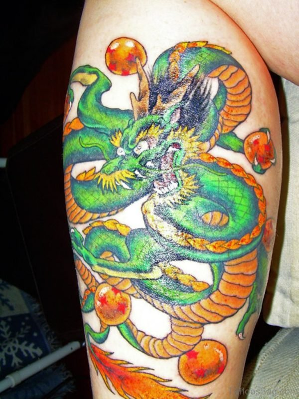 Graceful Dargon Tattoo
