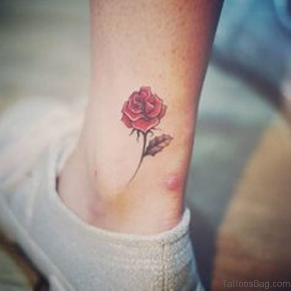 Graceful Rose Tattoo