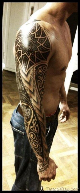 Graceful Tribal Tattoo