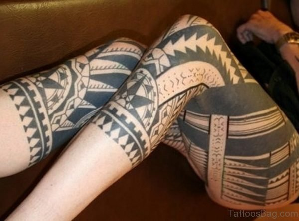 Graceful Tribal Tattoo