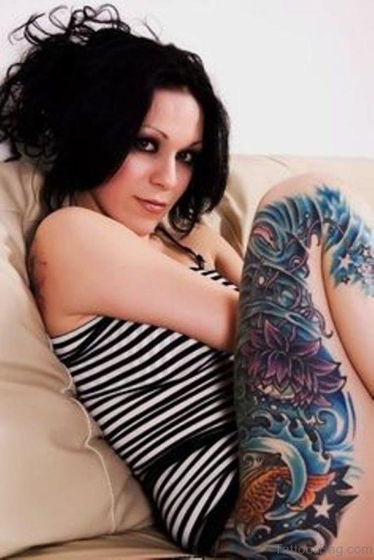 Graceful Fish Tattoo