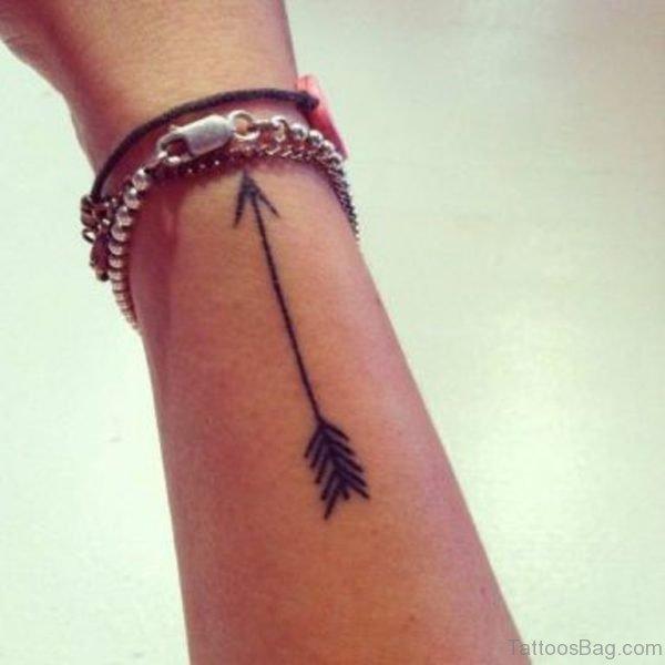 Great Arrow Tattoo