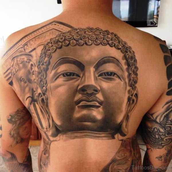 Great Buddha Tattoo Design 1