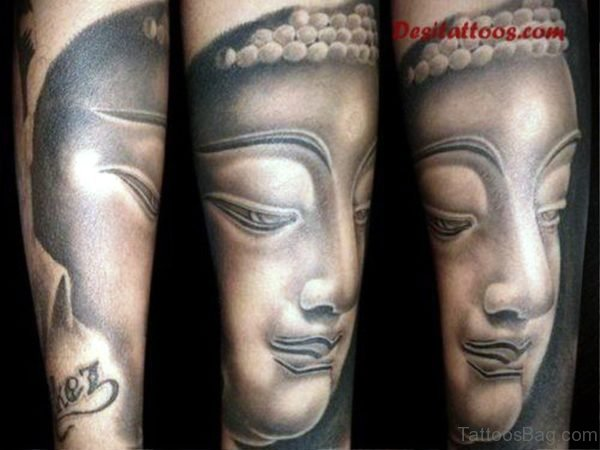 Great Buddha Tattoo Design