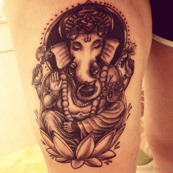 Great Ganesha Tattoo