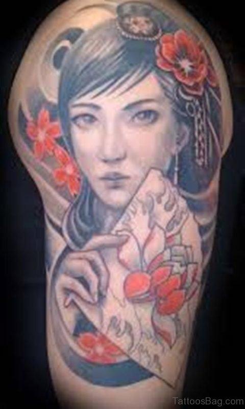 Great Geisha Tattoo
