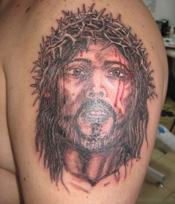 Great Jesus Tattoo