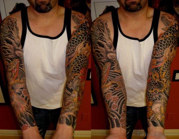 Great Looking Full Sleeve Tattoo