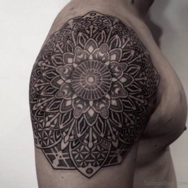 Great Looking Mandala Tattoo