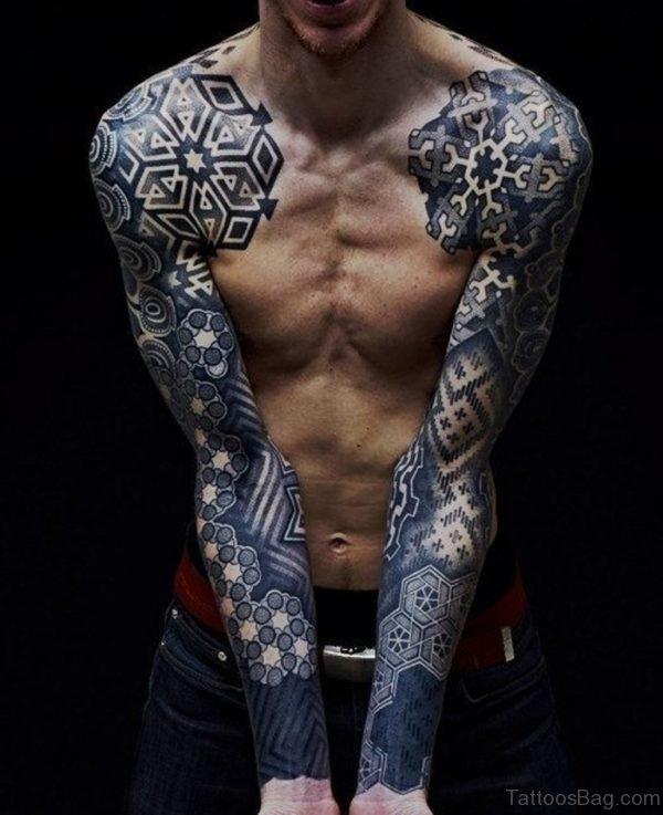 Great Looking Tribal Tattoo