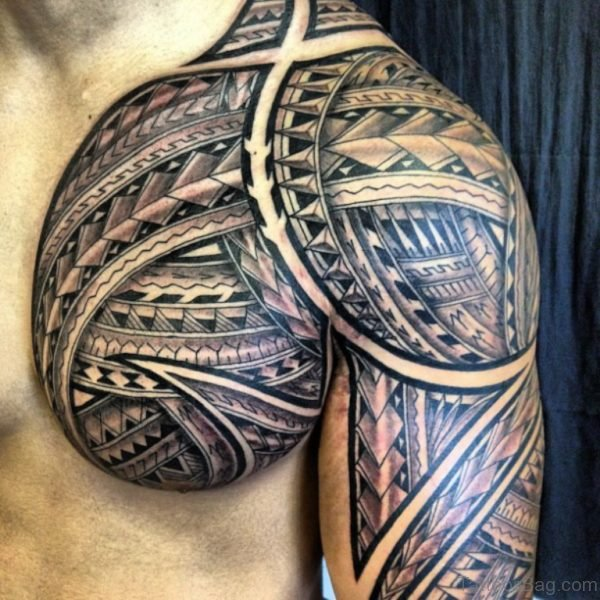 Great Looking Tribal Tattoo