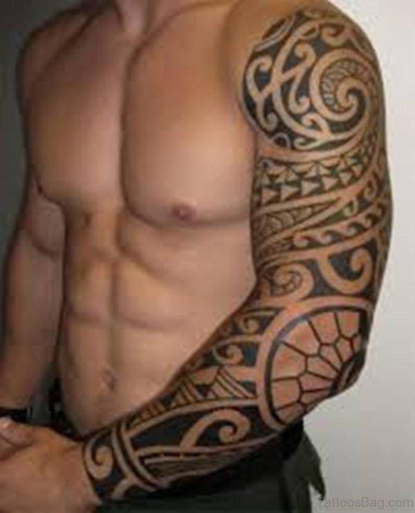 Great Looking Tribal Tattoo Design