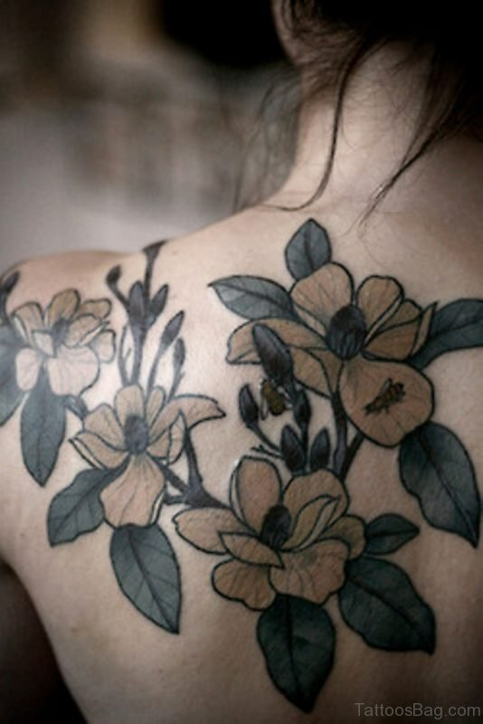 Great Magnolia Tattoo