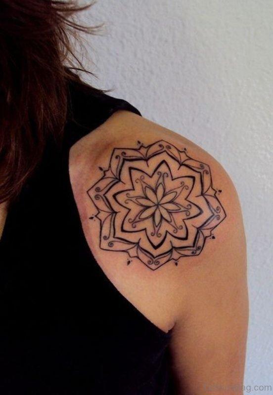 Great Mandala Tattoo Design