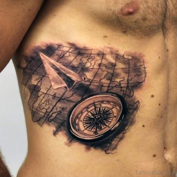 Great Map Tattoo
