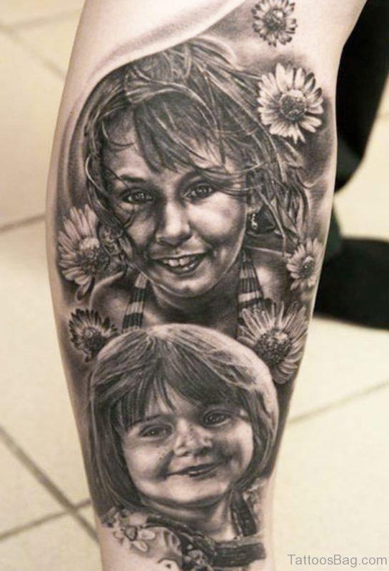 Great Portrait Tattoo 1