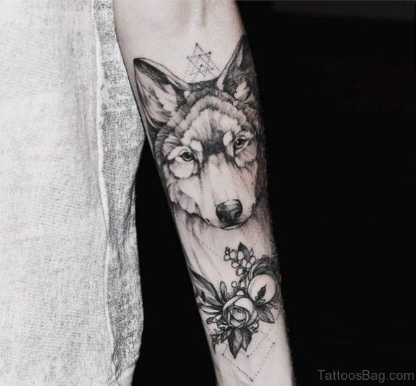 Great Wolf Tattoo design