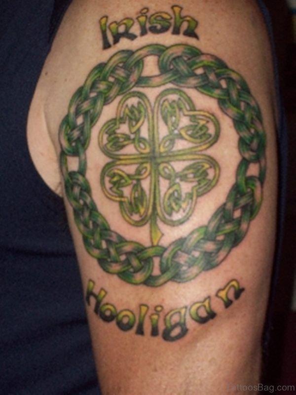 Green Celtic Tattoo