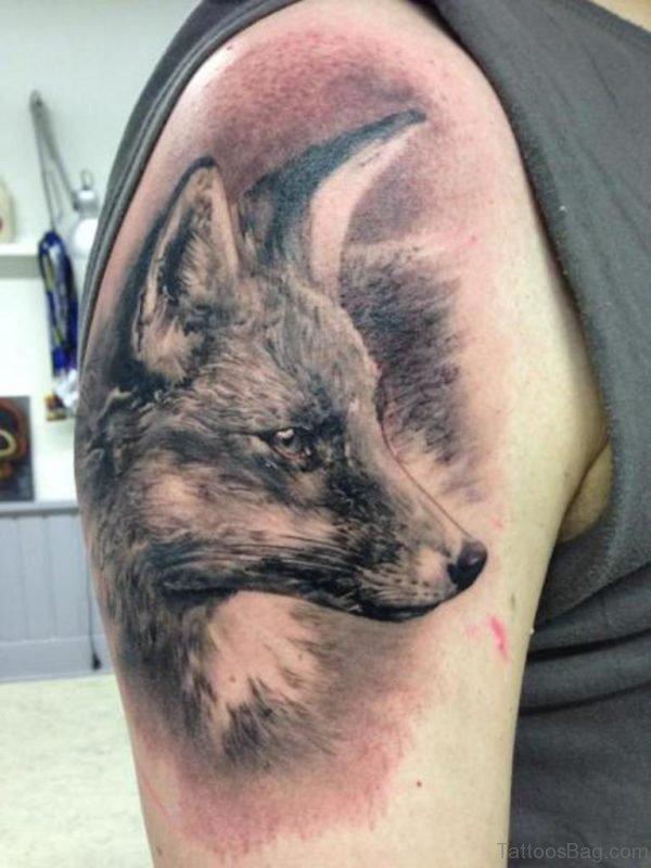 Grey Fox Tattoo