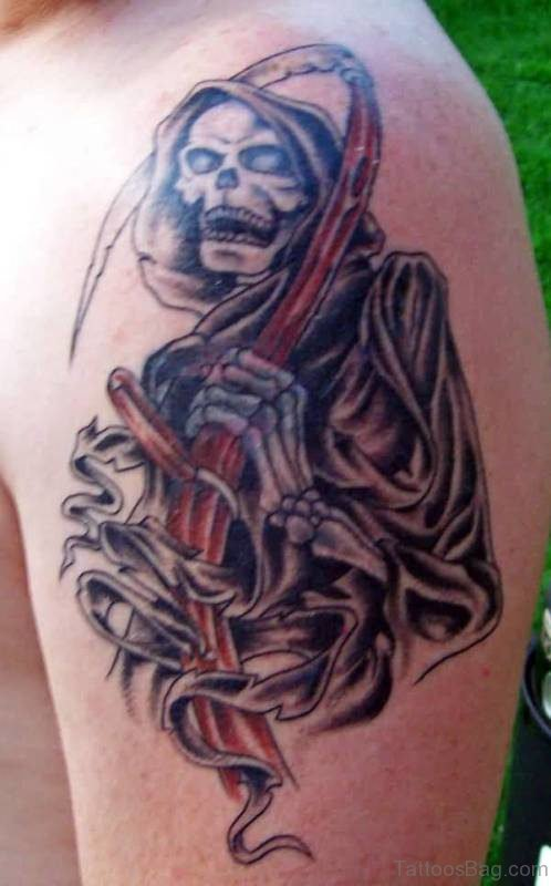 Grim Reaper Tattoo 2
