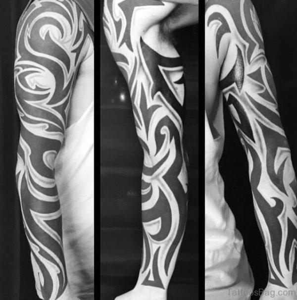 Guys Tribal Tattoo