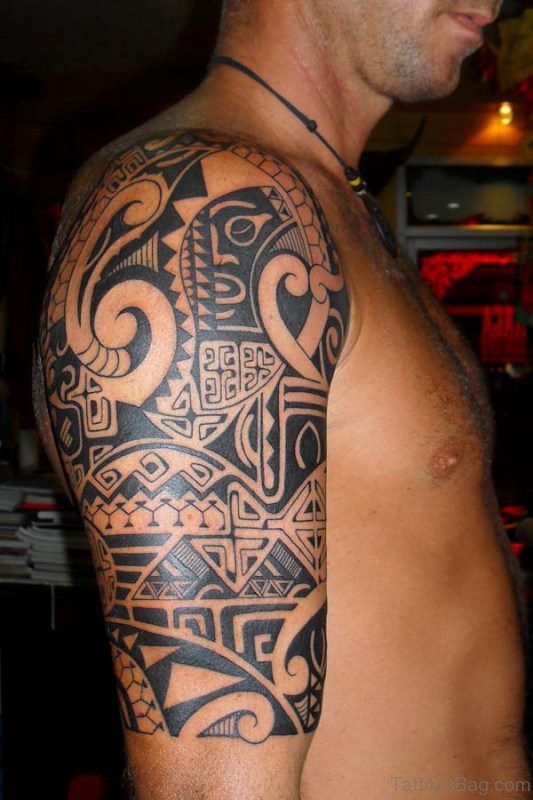 Half Sleeves Tattoo Design