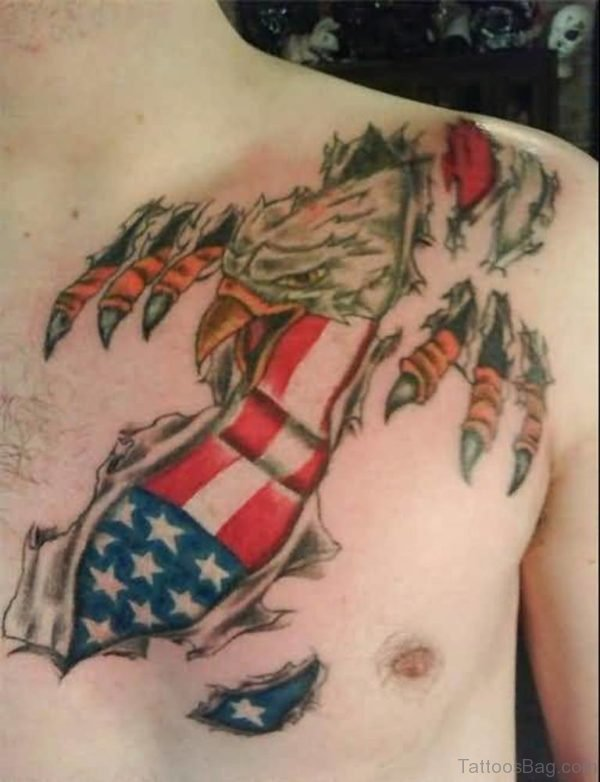 Handsome Flag Tattoo