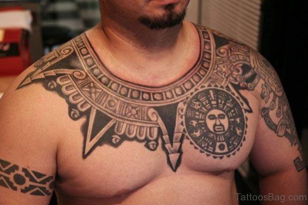 Hawaiian Tattoo On Neck