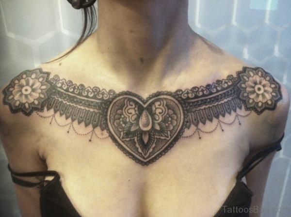 Heart Aztec Tattoo