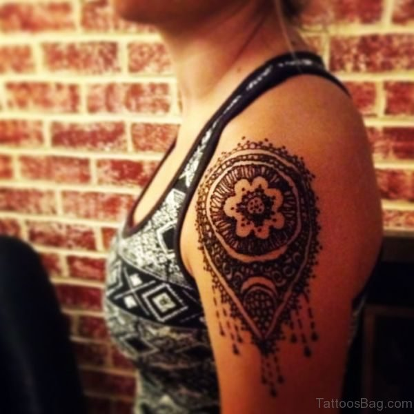 Henna Lace Tattoo