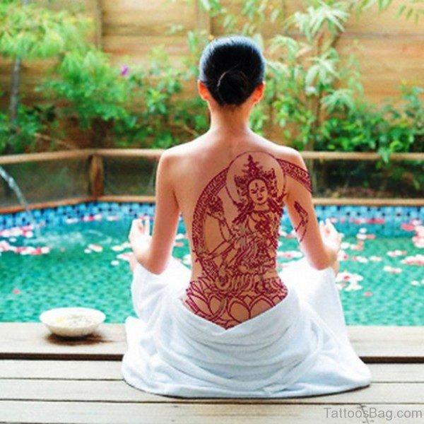 Holy Buddha Tattoo For Women