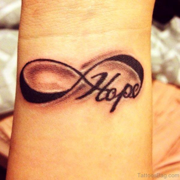 Hope Infinity Tattoo