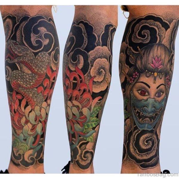 Horrer Geisha THorror Geisha Tattoo attoo 1